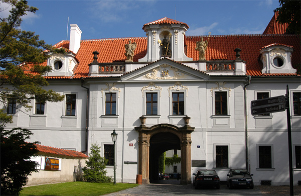 Museum of Czech Literature in Prague Strahov Monastery