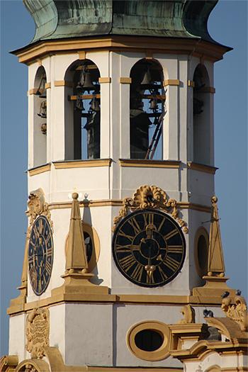 Prague Loreto carillon in the Clock Towek