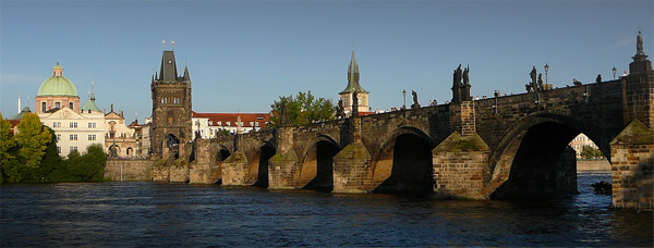 The Charles Bridge with Old Town Bridge Tower