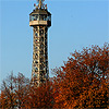 Petrin tower in autumn