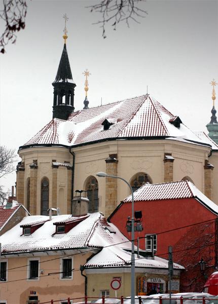 The Saint Roch Church in Prague